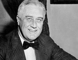 Franklin D. Roosevelt. Click image to expand.