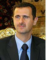 Syrian President Bashar Assad. Click image to expand.
