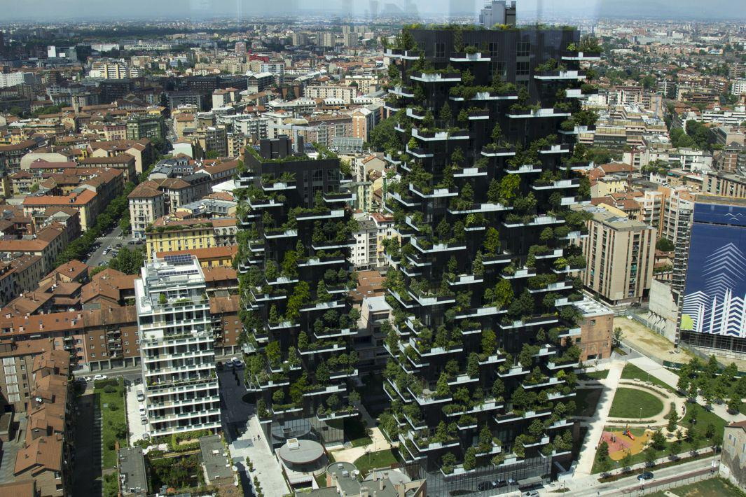 The Best Tall Building in 2015 Is Covered in Trees