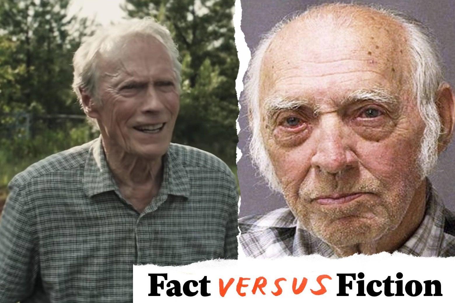 Clint Eastwood as Earl Stone, and Leo Sharp.