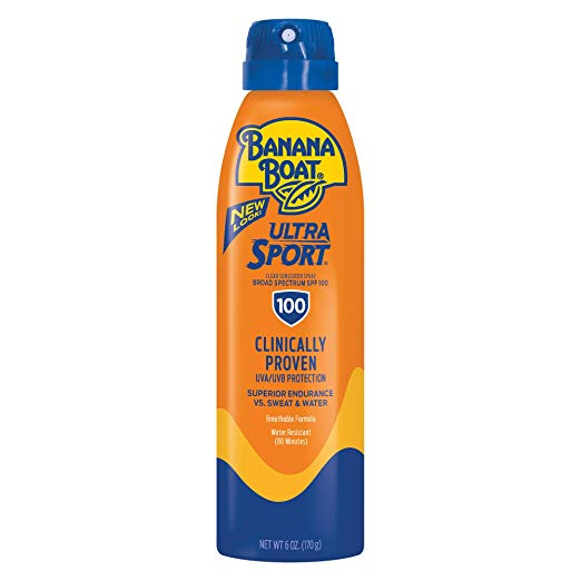 Banana Boat Sport Performance Clear UltraMist Sunscreen SPF 100