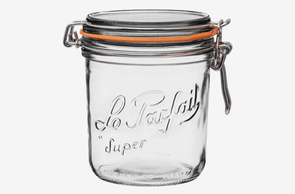 Le Parfait Super Terrine Wide Mouth French Glass Preserving Jar.