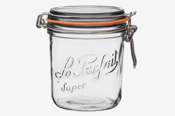 Le Parfait Super Terrine Wide Mouth French Glass Preserving Jar.