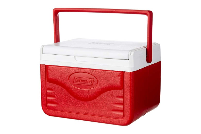 Red cooler.