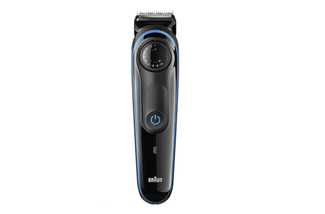 Braun beard trimmer.