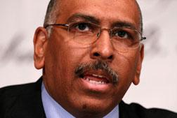 Incumbent Republican National Committee Chairman Michael Steele. Click image to expand.