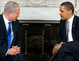 Benjamin Netanyahu and Barack Obama.
