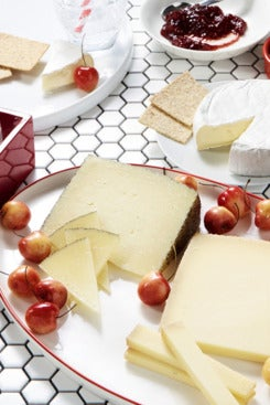 assorted Murray's cheeses
