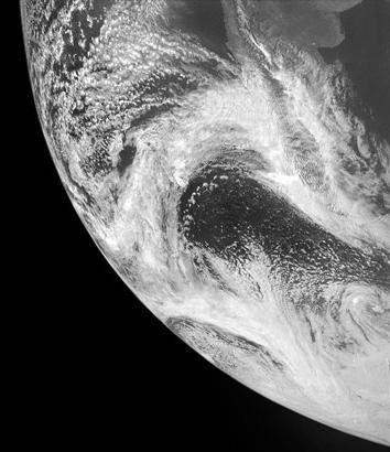 Earth from Juno