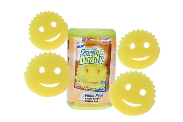 Scrub Daddy Scratch-Free Sponges (4 Count)