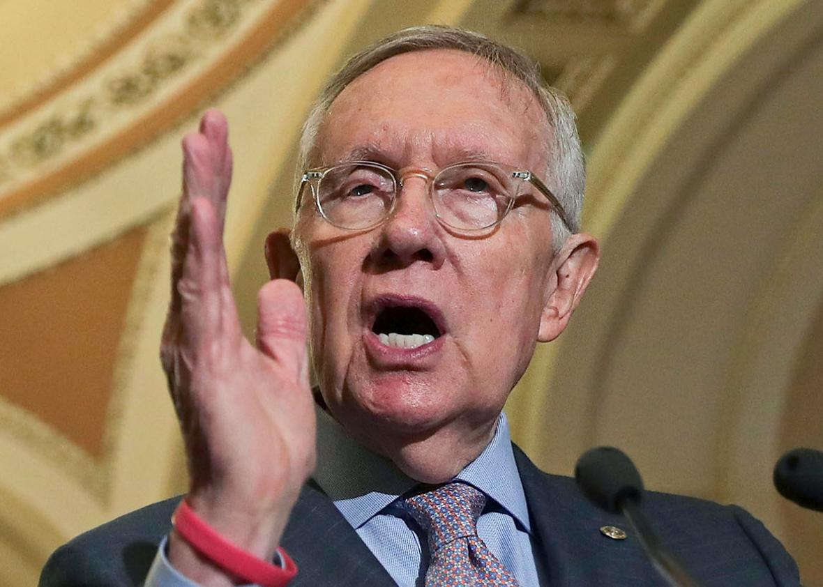 U.S. Senate Minority Leader Sen. Harry Reid