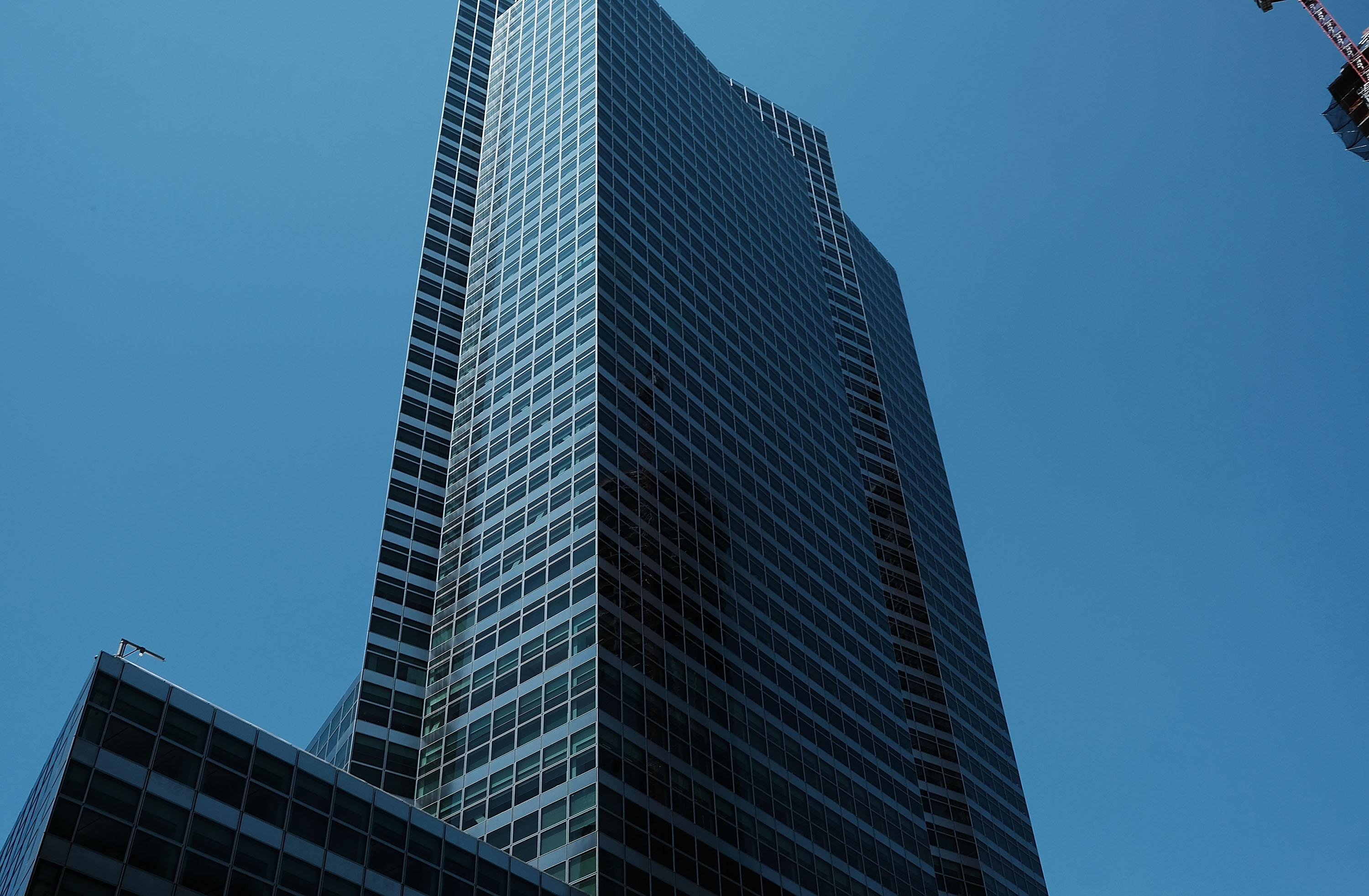 Goldman Sachs' New York headquarters in lower Manhattan.