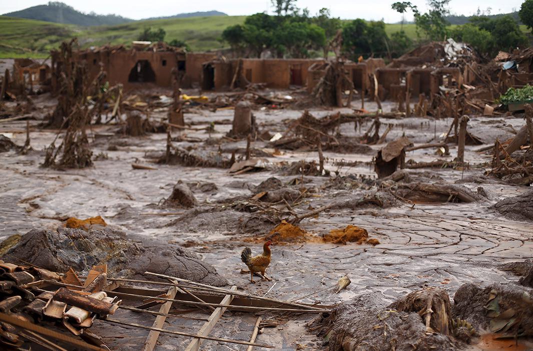 brazil's mining dam disaster photos.