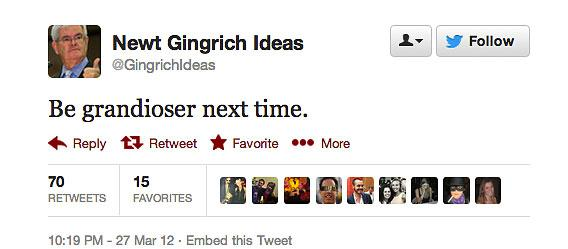 @GinagrichIdeas tweet