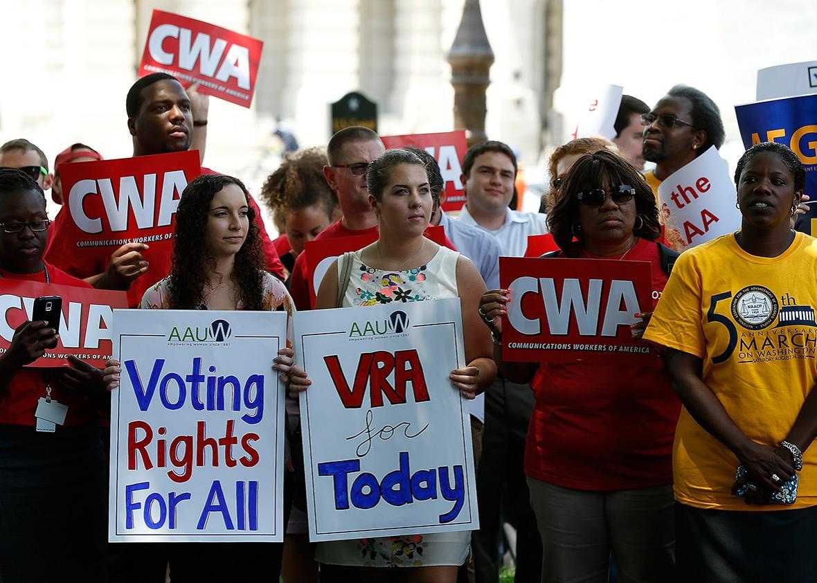 VRA activists