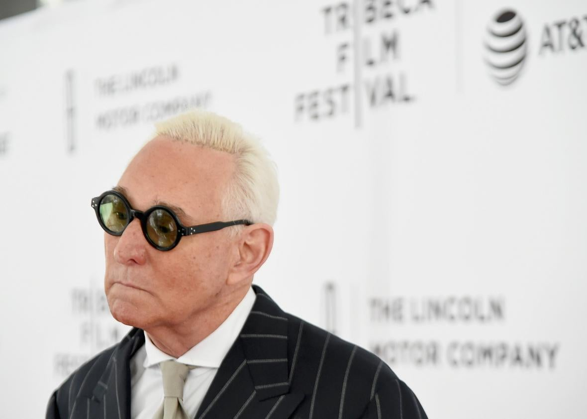 Trump adviser Roger Stone has been permanently banned from