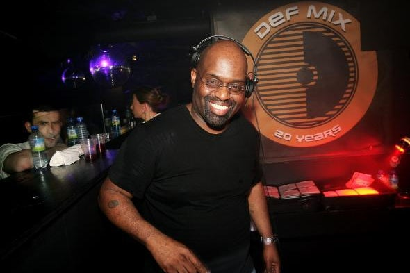 Frankie Knuckles, pioneer of house music, in 2007.