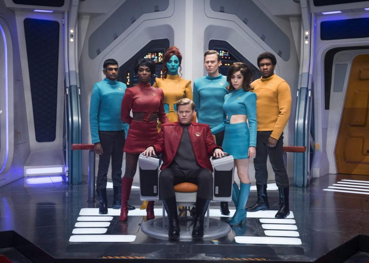 "Episode ""USS Callister"" in season four of Black Mirror"