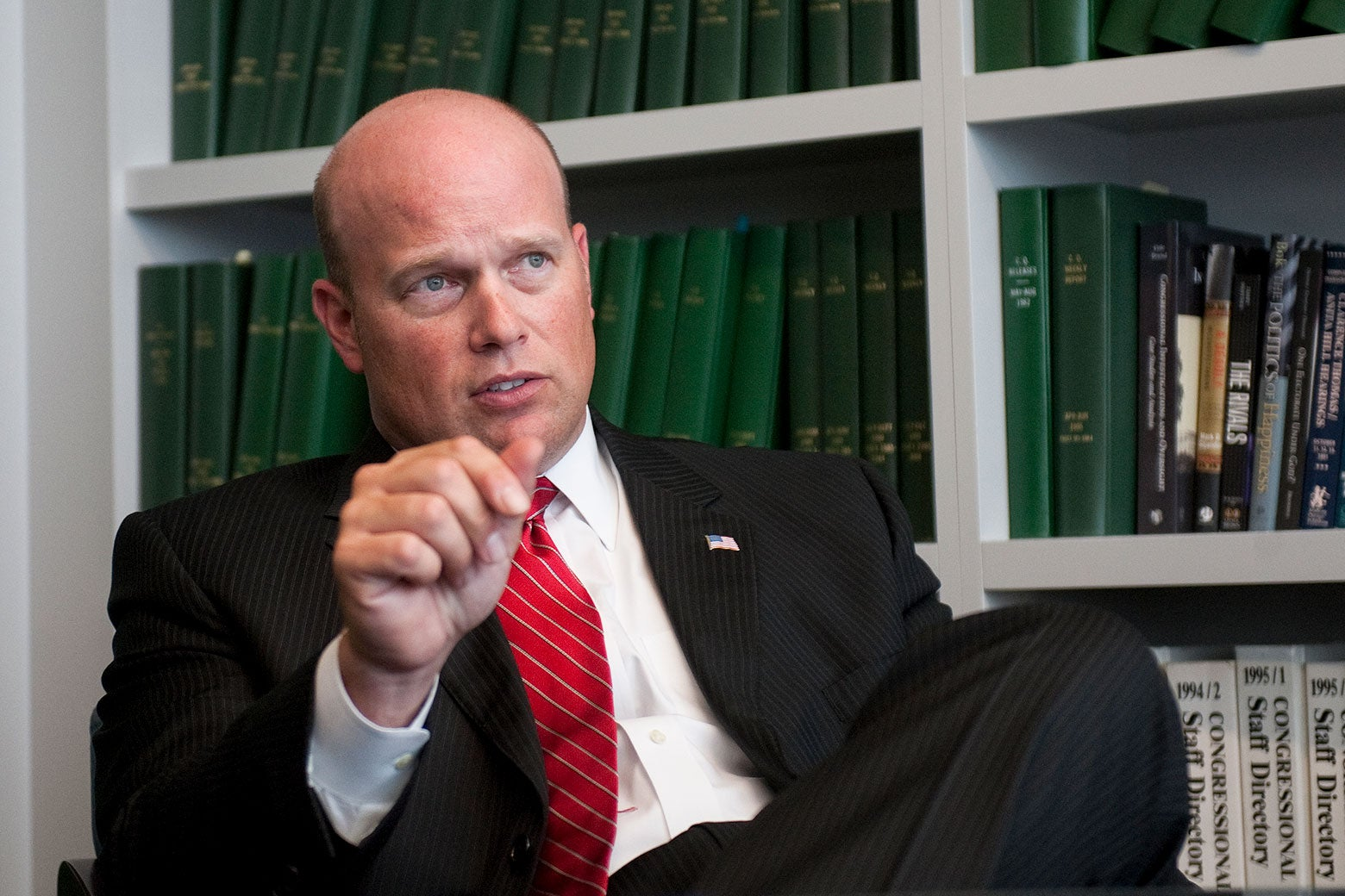 Matthew Whitaker, who purports to serve as acting attorney general.