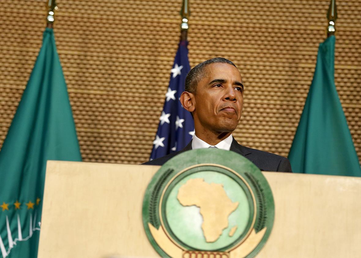 U.S. President Barack Obama in Ethiopia 2015
