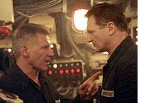 Harrison Ford and Liam Neeson get tense in K-19