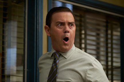 Joe Lo Truglio as Charles Boyle, looking shocked
