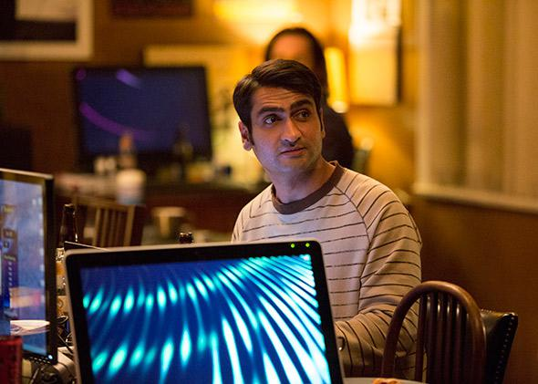 Kumail Nanjiani in Silicon Valley.