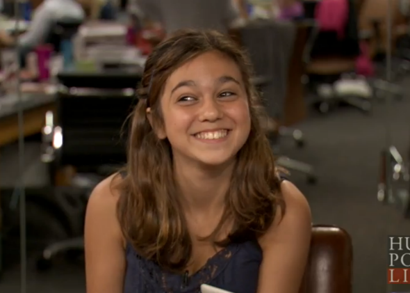 13-year-old Ruby Karp was right: Her peers appear to be spending less time on Facebook.