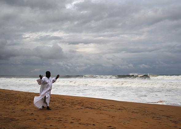 Prayer Liberian Coast