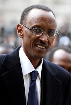 Rwandan President Paul Kagame. Click image to expand.