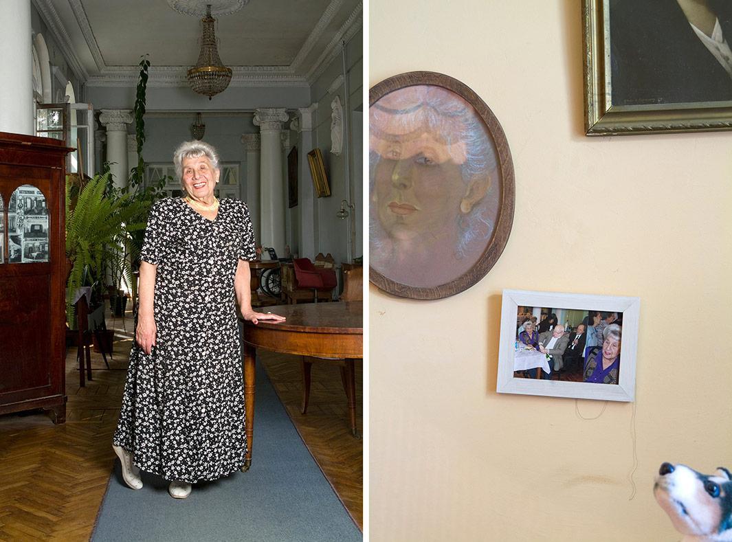 Maria Lazarevna Lejeune, born 1925.