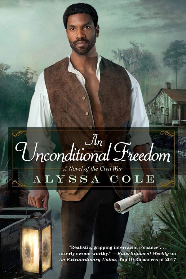 The cover of An Unconditional Freedom by Alyssa Cole.