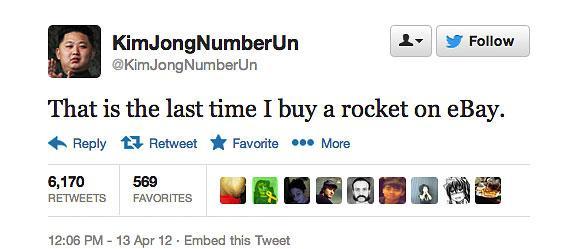 @KimJongNumberUn tweet