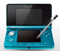 Nintendo 3DS in Aqua.