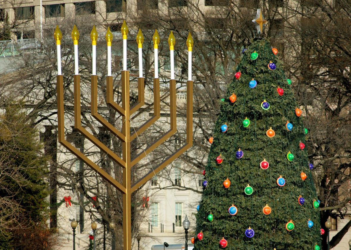 Why Hanukkah and Christmas shouldn\'t be in competition.