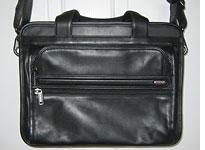 Tumi Generation 4.4 Small Expandable Leather Computer Brief