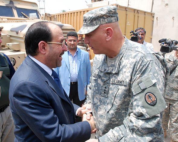 Prime Minister Nouri al-Maliki.
