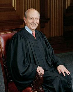 Justice Stephen Breyer. Click image to expand.