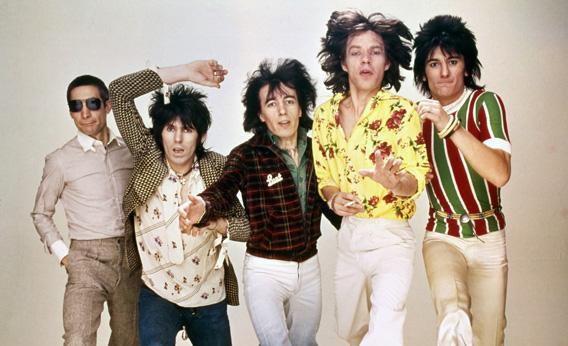 Charlie Watts, Keith Richards, Bill Wyman, Mick Jagger, Ronnie Wood.