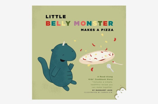 Little Belly Monster Makes a Pizza.