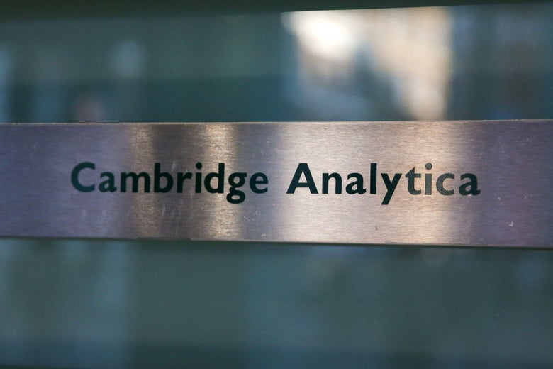 Both Cambridge Analytica and its parent company, SCL, are shutting down.