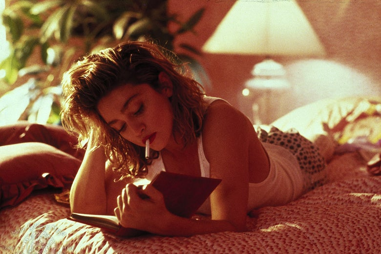 Madonna in a still from the movie.