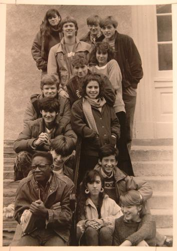 Andre is bottom left, Emily Bazelon is third row from the top on the right.