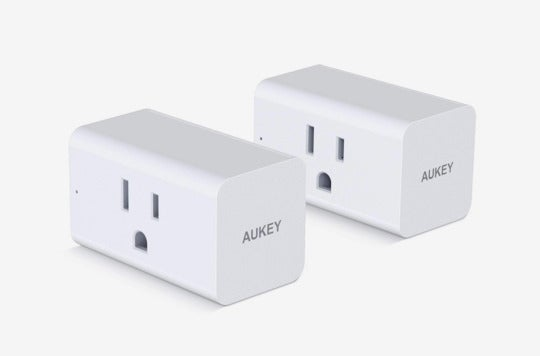 AUKEY Wi-Fi Smart Plugs.