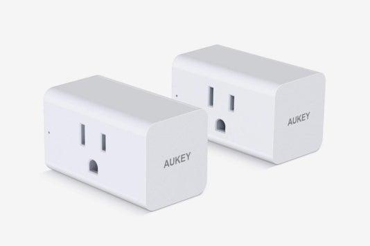 AUKEY Wi-Fi Smart Plugs.
