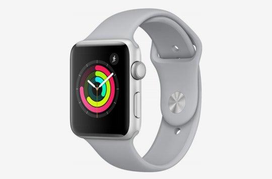 Apple Watch Series 3 GPS – Silver/Fog.