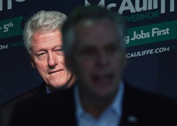 Bill Clinton at Terry McAuliffe Rally