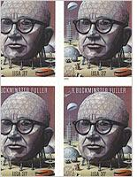 Buckminster Fuller stamps. Click image to expand