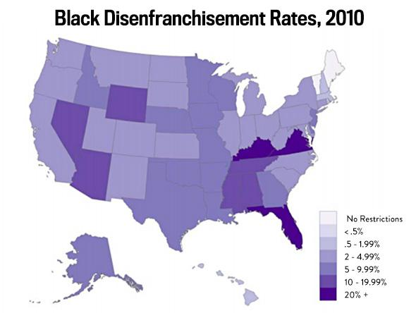 Racial disparities in the criminal justice system: Eight charts