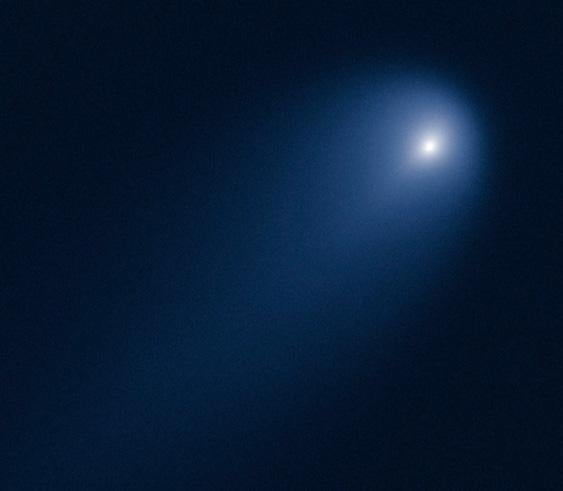 Hubble picture of comet ISON